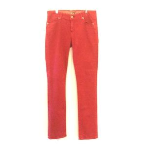 🌺 Rich & Skinny Red Jeans